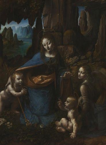 Fecioara intre stanci – Leonardo da Vinci