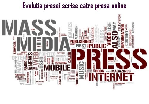 Evoluția presei scrise către presa online