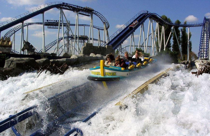 Europa-Park este unul dintre cele mai vizitate parcuri de distractie din Europa.